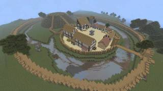 Minecraft Speedbuild #2 - Medieval Village
