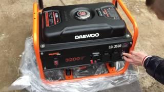 Распаковка Daewoo GDA 3500 смотреть