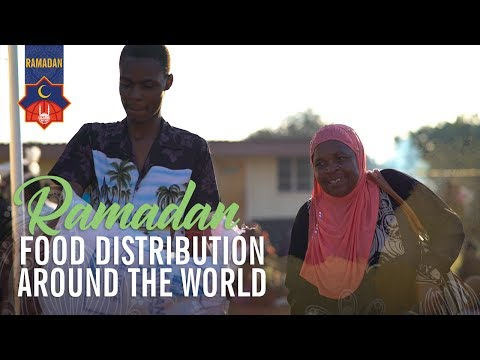 Islamic Relief USA - Ramadan 2017 - Food Distribution Around the World