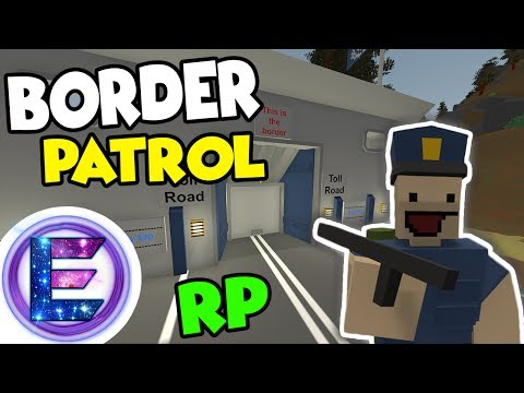Berlin Border Patrol RP - Toll Road Bypass - Get shot on the job - Unturned RP ( Funny Moments )