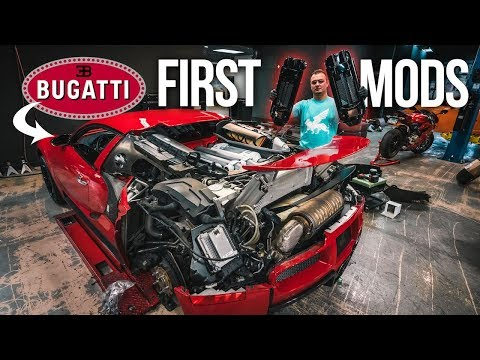 broken-bugatti-first-engine-mods!