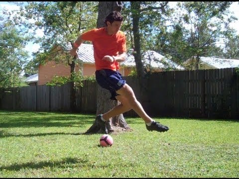 Soccer Shooting - Outside of Foot Shot with Power - Online Soccer Academy