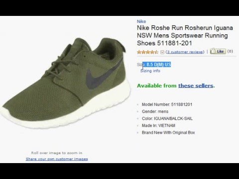 c1128e2277e0 ... sale best nike roshe run mens sportswear running shoes reviews youtube  051ee 62970