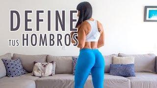 HOMBROS en MUJERES cmo definirlos con Ana Mojica Fitness