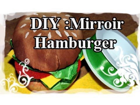 DIY : Tuto / Tutoriel N°3 : Faire un miroir Hamburger