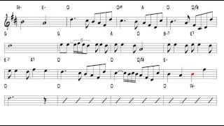 La vie en rose Edith Piaf 1945 Tenor Sax