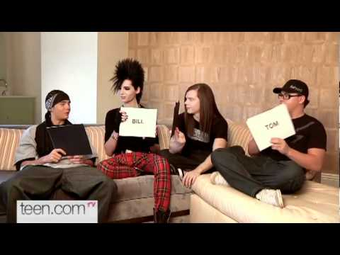 Tokio Hotel interview ( english )