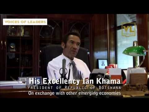 Voices of Leaders Interviews Ian Khama, President, Botswana