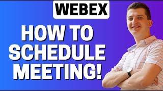 How To Schedule Meeting In Webex
