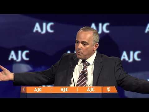 AJC Global Forum 2015 Segment: Israeli Minister Yuval Steinitz