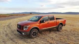 2019 Nissan TITAN Driving - Exterior