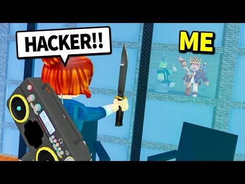 How To Glitch Through Walls In Murder Mystery 2 Roblox Youtube