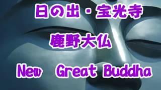 日の出・宝光寺 鹿野大仏 New Great Buddha
