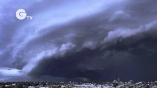 Dramatic storm over Melbourne, Australia - Extreme Weather Top 10 Video