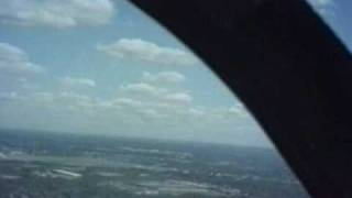 Landing a Grumman AA1-C at Northeast Phila. Airport.