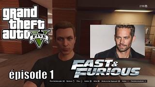 LES VISAGES DE GTA 5 ONLINE EPISODE 1 : AVOIR PAUL WALKER DANS GTA 5