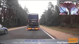 Pościg za TIRem i strzelanie w opony - Białoruś