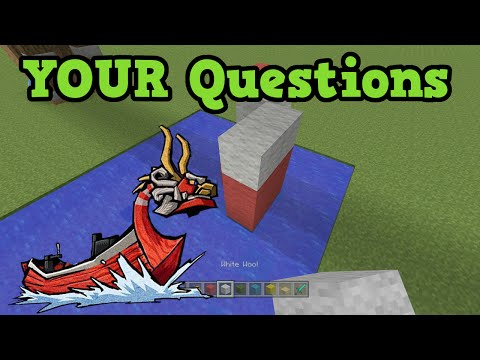 QnA - Zelda, Builds & TU40 Minecraft Xbox