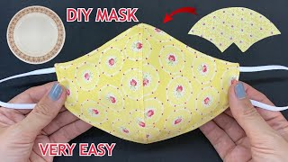 Very Easy Diy Breathable Face Mask (S M L) From Dish Easy To Make Sewing Tutorial | How to Mask |