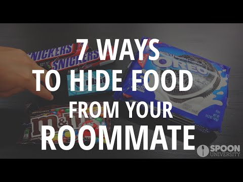 How to Hide Your Food From Your Roommate