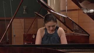 Yoshiko Furukawa – J.S. Bach, Prelude and Fugue in F major, BWV 880 (First stage)