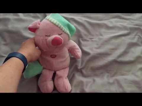 Jesus Loves Me Singing Pig Wearing Pajamas Toy Video ~ This Little Piggie Likes to Sing