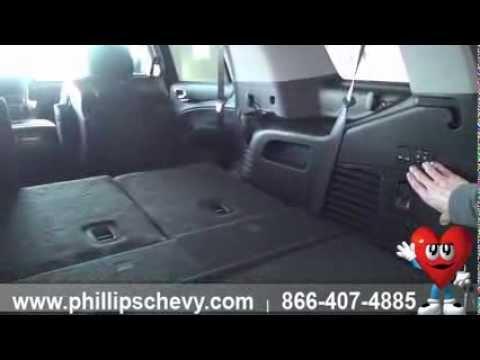 Phillips Chevrolet   2015 Chevy Tahoe   Interior Walk Around   Chicago  Dealership New Car Sales   YouTube