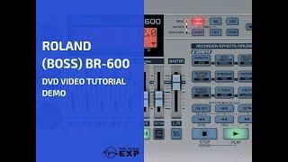 رولان (مدرب) BR-600 دي في دي فيديو تعليمي تجريبي استعراض المساعدة