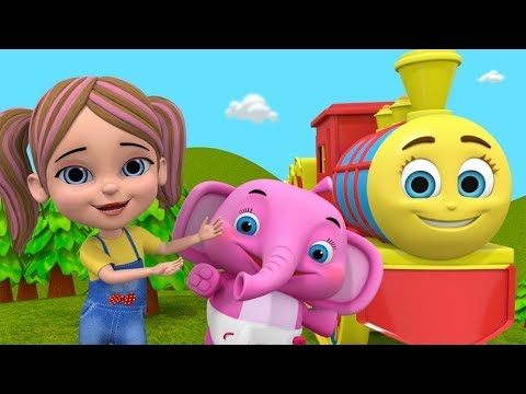 🔴 Chuk Chuk Karti Aati Hai बालगीत   बच्चों के लिए गाने   Nursery Rhymes & Cartoons For Kids