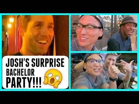JOSH'S SURPRISE BACHELOR PARTY! - 동영상