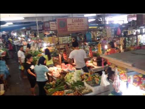 the market of Olongapo city, Phillipines