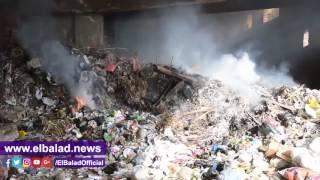 'صدى البلد' يرصد 'حرائق القمامة' بمحيط مترو جامعة القاهرة .. فيديو وصور