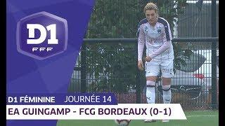J14 : EA Guingamp - Girondins de Bordeaux (0-1) / D1 Féminine