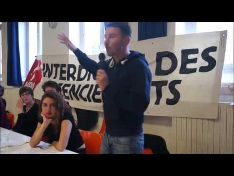 Olivier Besancenot - Meeting des candidats du NPA aux élections législatives de Paris