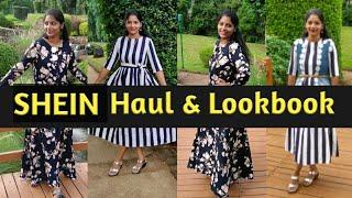 Shein Haul & Lookbook || My First Look Book || Divya Vlogz in Telugu