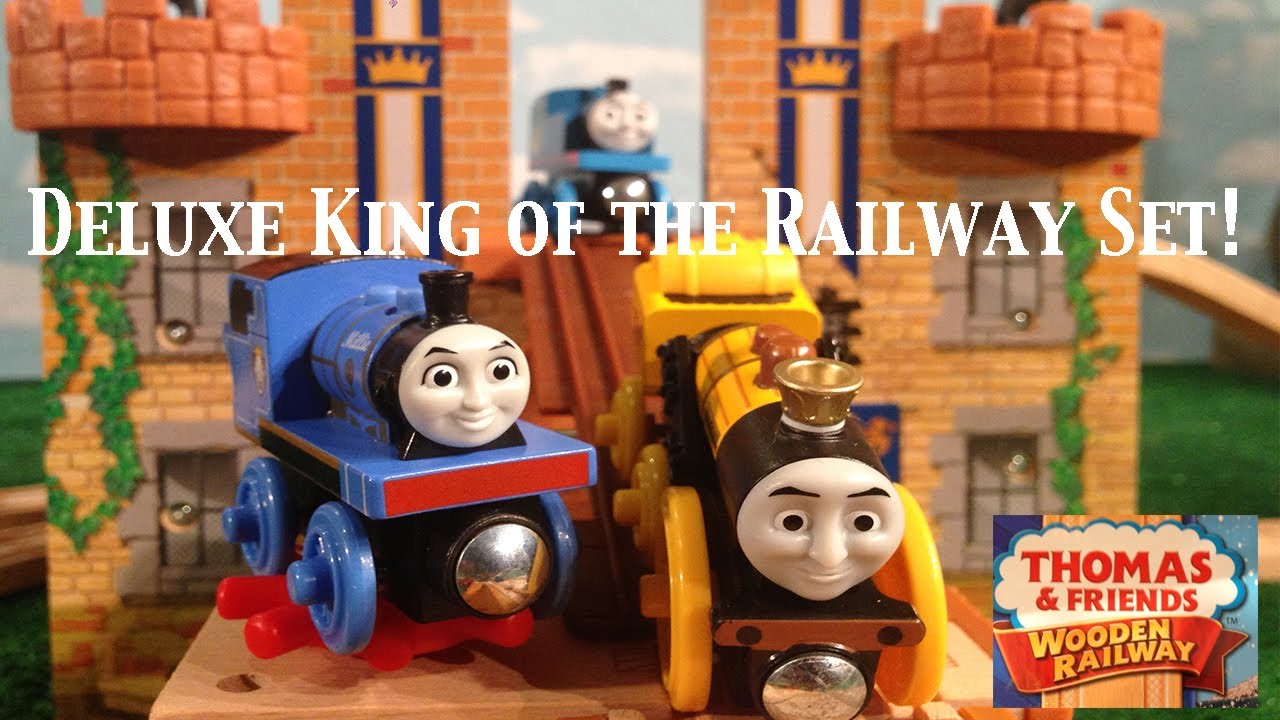 Thomas And Friends Wooden Railway Deluxe King Of The Railway Set