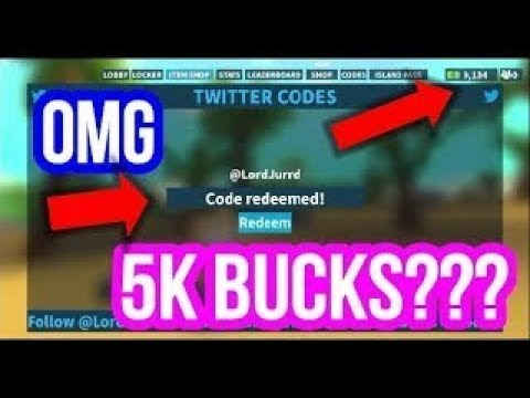 Island Royale Codes   All New Working Twitter Codes ...