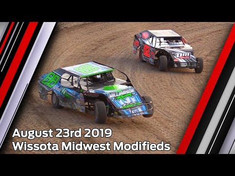 August 23rd 2019, LOWS Wissota Midwest Modifieds Heat & Feature
