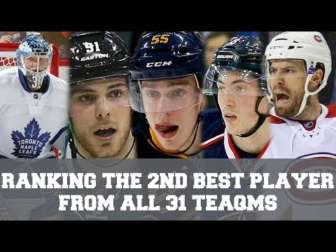 Ranking The 2nd Best Players From All 31 NHL Teams