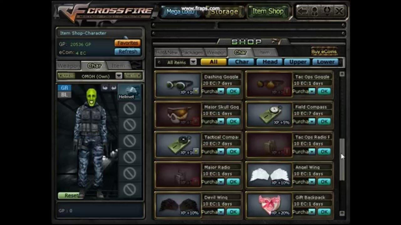 crossfire private server