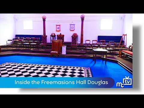 Inside the Freemasons Hall