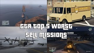GTA Online Top 5 Worst Sell Missions