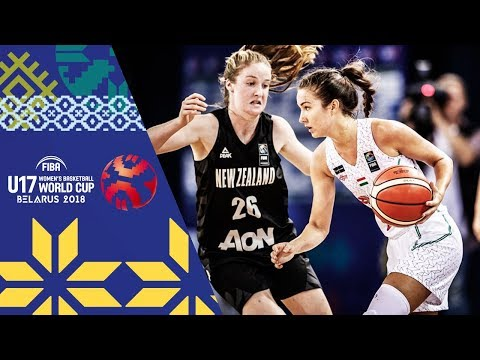 LIVE 🔴- Hungary v New Zealand - FIBA U17 Women's Basketball World Cup 2018