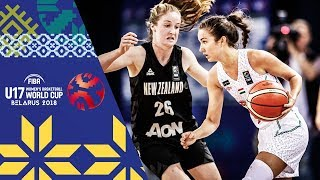 LIVE 🔴- Hungary v New Zealand - FIBA U17 Women's Basketball World Cup 2018