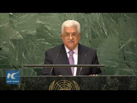 This is how Palestine President Mahmoud Abbas slams Israel in his UN speech