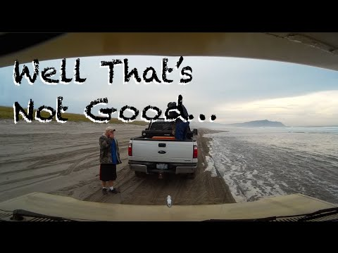 Let's Drive On The Beach - What Could Go Wrong?…