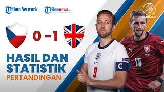 Euro 2020: Hasil & Statistik Pertandingan Republik Ceko 0-1 Inggris, The Three Lios Puncaki Grup D