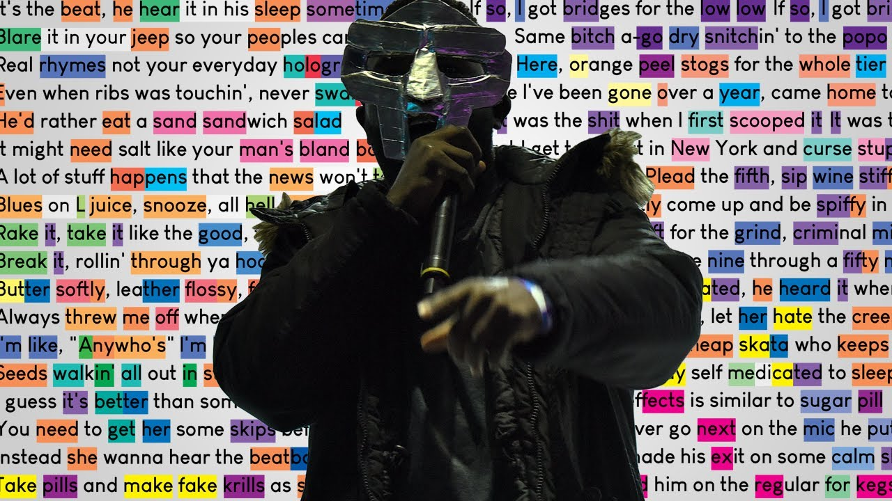 MF DOOM - Vomitspit | Rhymes Highlighted