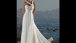 Top 20 Trendy Greek Goddess Wedding Dresses