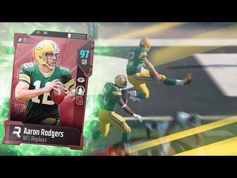 AARON RODGERS!! BEST QB IN MADDEN? | MADDEN 18 ULTIMATE TEAM GAMEPLAY EPISODE 63